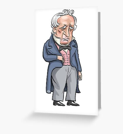 President James Buchanan Greeting Card