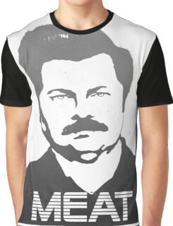 Meat Swanson Graphic T-Shirt