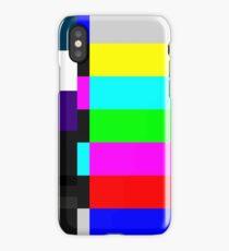 TV screen iPhone Case