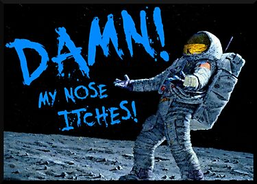 astronauts in space blowing nose - photo #21