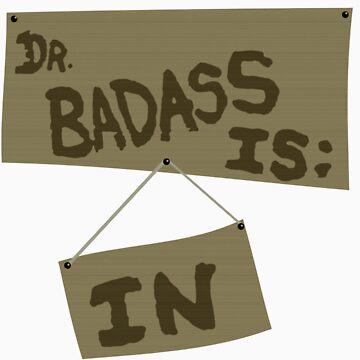 Supernatural - DR. BADASS: IS IN by bitchfacesam