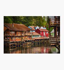 Creek Street - Ketchikan Alaska Photographic Print