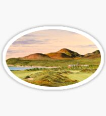 Royal County Down Golf Course Sticker