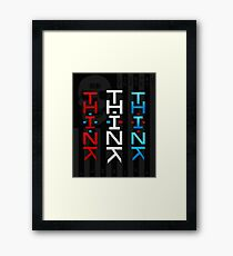 THINK AMERIKA Framed Print