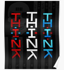 THINK AMERIKA Poster