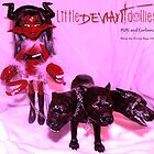 Mimi and her hell hound Cerberus by deviantdolls