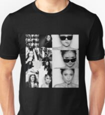 Nina Dobrev in Black and White Unisex T-Shirt