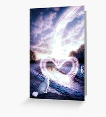 Love is all you need to be friends Greeting Card