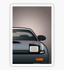 Modern Japanese Icons Series Toyota Celica  GT-Four All-Trac Turbo ST185 (Split) Sticker