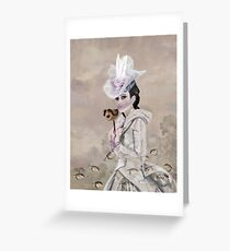 The Chattel  Greeting Card