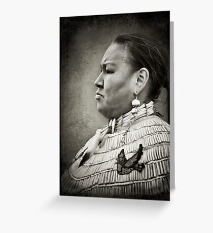 Dakota Woman Greeting Card