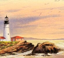 Portland Head Lighthouse Maine Sticker