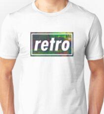 Retro - Multicoloured Unisex T-Shirt