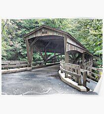 Mill Creek Covered Bridge Poster