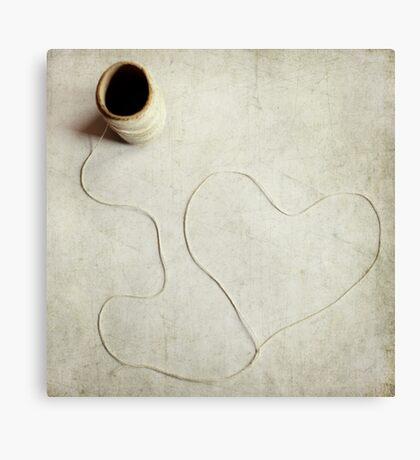 Heartstring Canvas Print