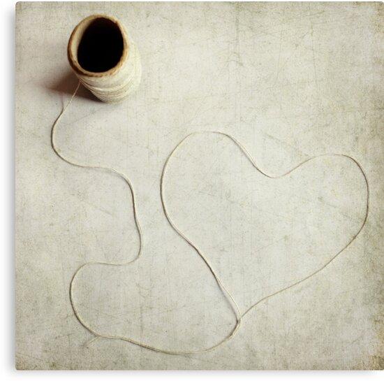 Heartstring by sandra arduini