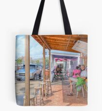Potter's Cay in Nassau, The Bahamas Tote Bag