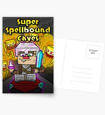 Super Spellbound Caves - Enchanting Poster Postcards