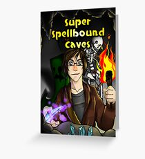 Super Spellbound Caves - Discovery Poster Greeting Card
