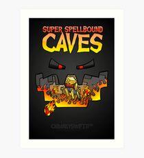 Super Spellbound Caves - Blaze Poster Art Print