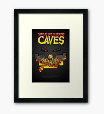 Super Spellbound Caves - Blaze Poster Framed Print