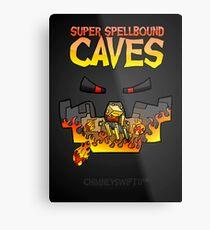 Super Spellbound Caves - Blaze Poster Metal Print