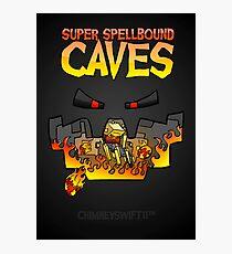 Super Spellbound Caves - Blaze Poster Photographic Print