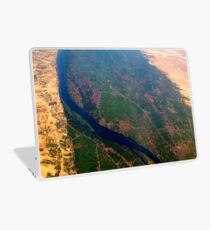 Egypt From Above - The Nile In Bright Color Laptop Skin