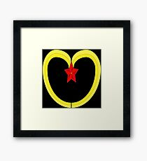 peoples republic of mcdonalds. Framed Print