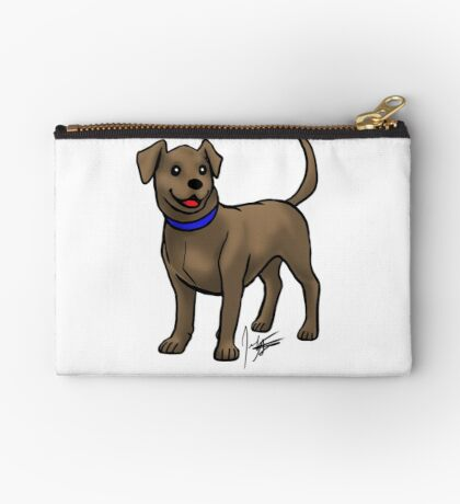 Chocolate Lab Studio Pouch