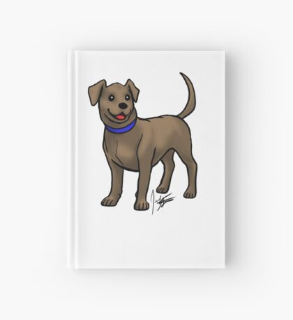 Chocolate Lab Hardcover Journal