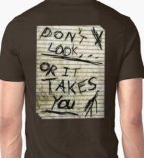 Oh slender, u so scary Unisex T-Shirt
