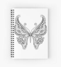 Fancy Tanglefly Spiral Notebook