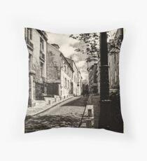 Parisian Postcard III Throw Pillow