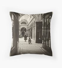 Parisian Postcard -VII Throw Pillow