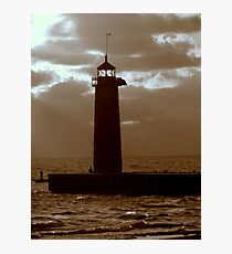 Pierhead Lighthouse Kenosha Wisconsin Photographic Print