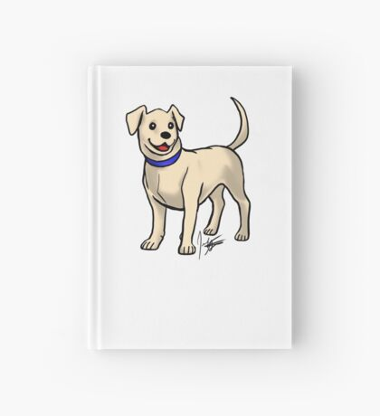 Yellow Lab Hardcover Journal