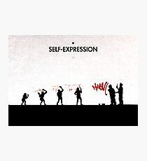 99 Steps of Progress - Self-expression Photographic Print