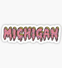 University of Michigan Odd Future Sticker
