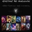2013 Fantasy Art Calendar by nianluain