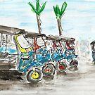 Tuk Tuks of Bangkok by joelwilluk