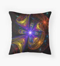Star-Studded Evening Throw Pillow