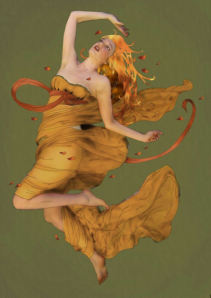 Autumn Gold by Tiffany Muff