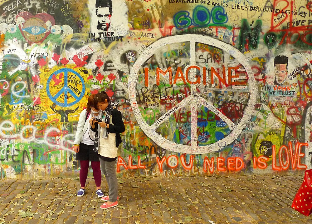All You Need is Love - The Beatles - John Lennon - Imagine by Tara Holland