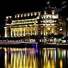 The Fullerton Hotel, Singapore by Tamara Travers