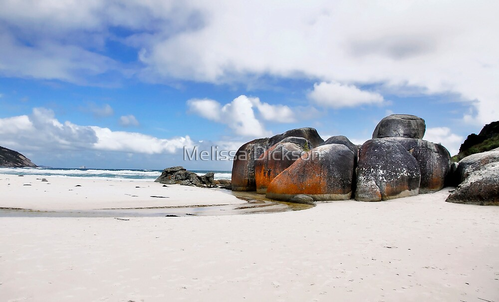 Squeaky Beach Vic by Melissa Dickson