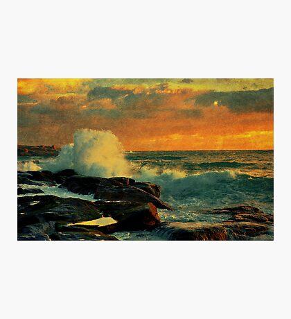 Evening Shores Photographic Print
