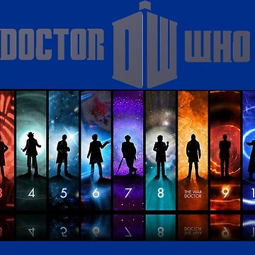 The Doctor Through Time by Crypto5555