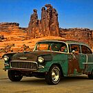 "1955 Chevrolet ""Road Trip"" by TeeMack"