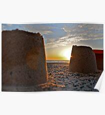 Sand Castles Poster